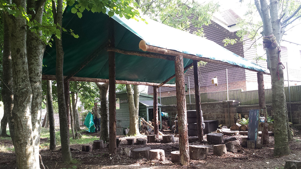 Forest School Shelter