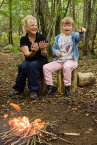 The Woodland Project in East Sussex offers days out in nature for families who have a child with a severe physical or learning disability, families who have a child experiencing mental health issues and 11-18 year olds who are accessing mental health services.