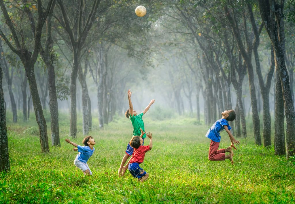Physical play is important!