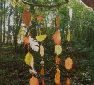 Waxed Autumn Leaves, ideas for outdoor learning this Autumn and Winter!